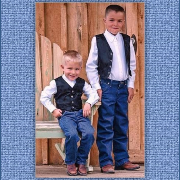 Ring Bearer Vests